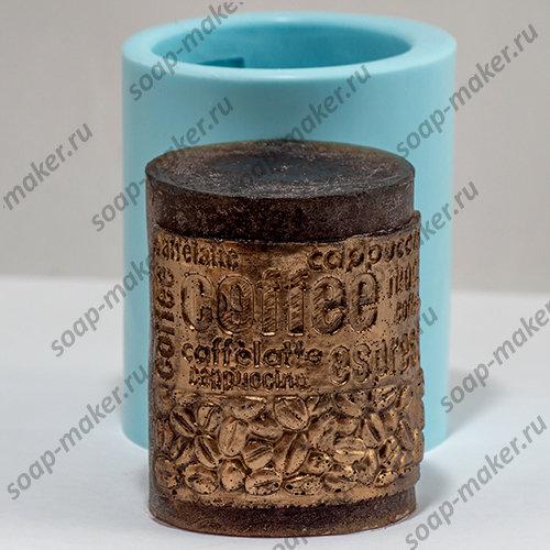 Цилиндр кофе 3D