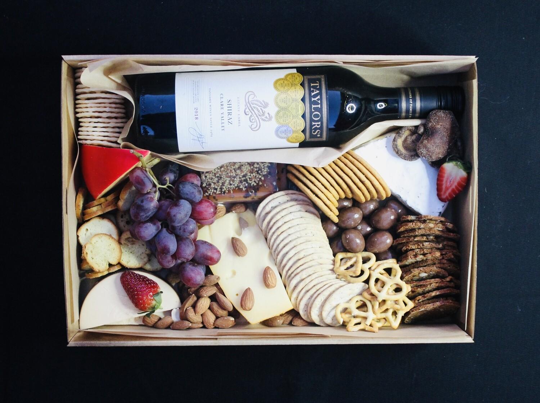 Wine & Cheese Grazing Box