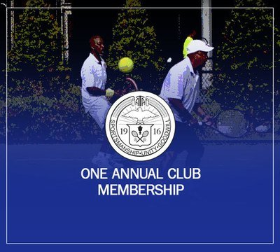 One Annual Club Membership