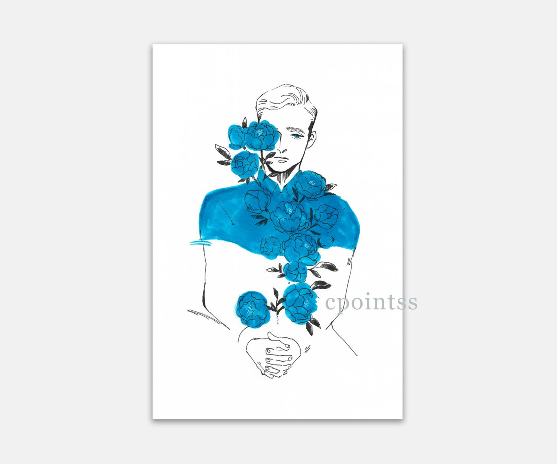 [6 x 4 inch print] Half empty