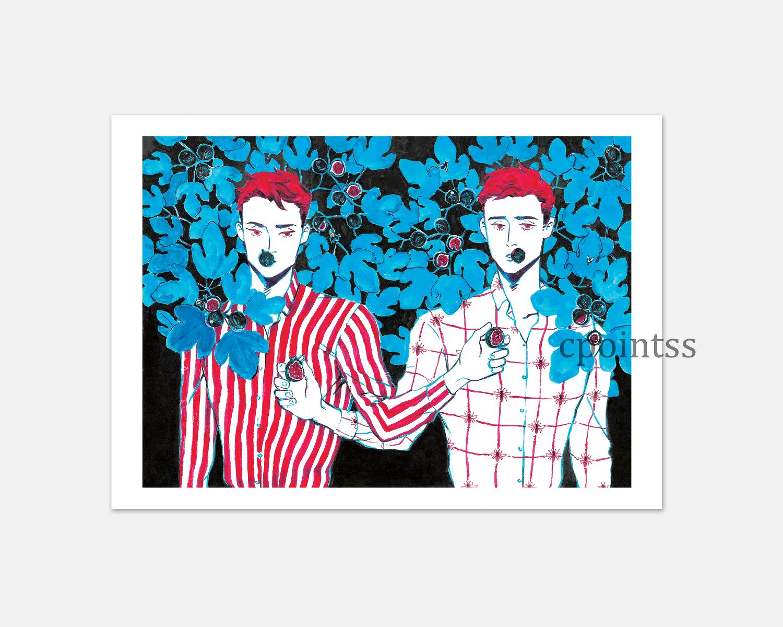 [7 x 5  inch print] Fig