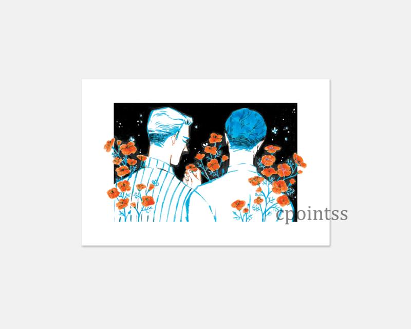 [6 x 4 inch print] California Poppies