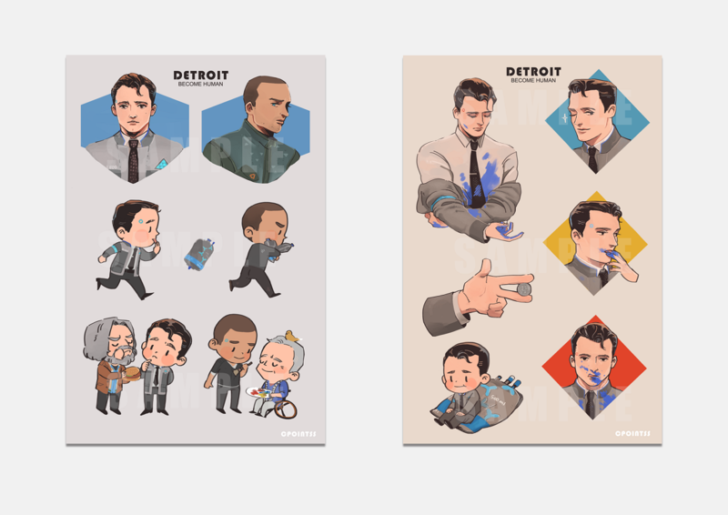 DBH Stickers