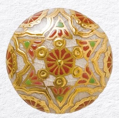 Deity Adornment Red (Gold)