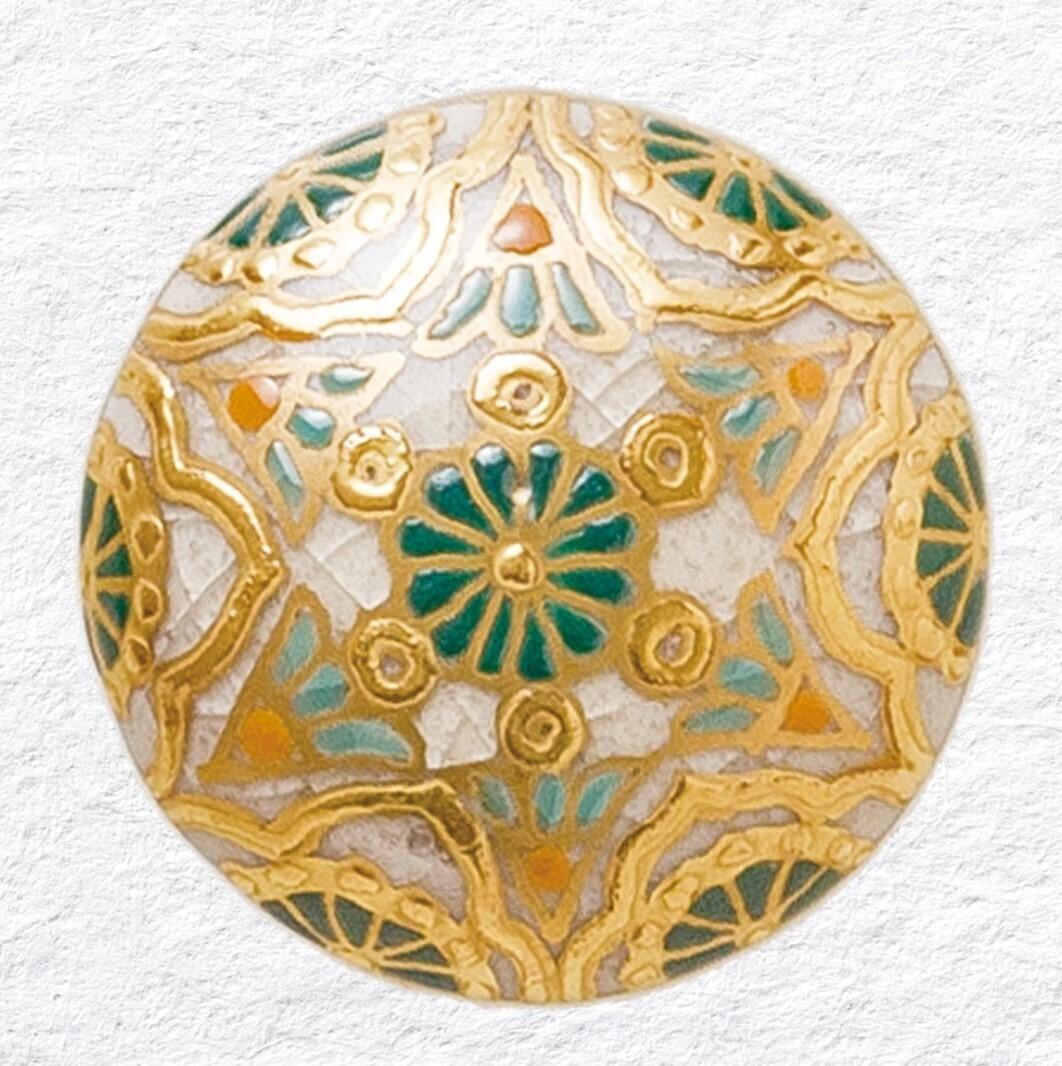 Deity Adornment Green (Gold)