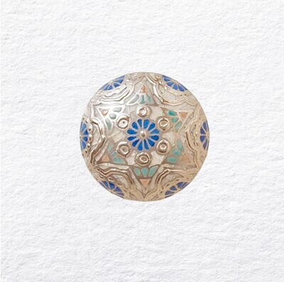 Deity Adornment Cobalt Blue (Platinum)