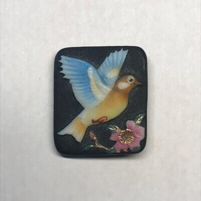 Bird Flying, Rectangular