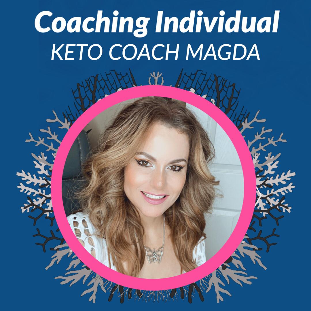 Logra tu meta con Keto Coach Magda