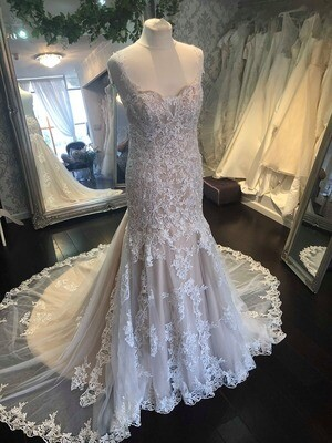 Liberty  - Lace Fit and Flare Wedding Dress