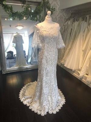 Kitty  - Sheath Lace Wedding Dress
