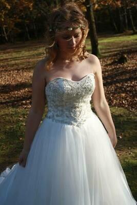Riva  - Princess Beaded Wedding Dress