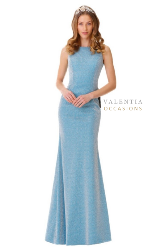 Darcey Fitted Evening Dress