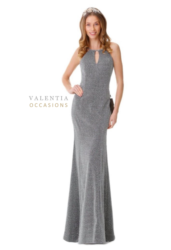 Tasha Fitted Evening Dress