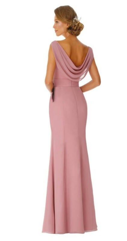 Brigita Special Occasion Dress | Chiffon Bridesmaid Dress