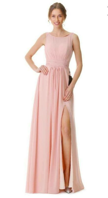 Elsie Special Occasion Dress | Chiffon Bridesmaid Dress