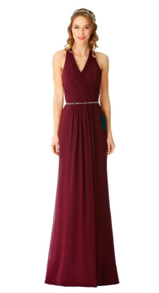 Dominque Special Occasion Dress | Halter Neck Bridesmaid Dress