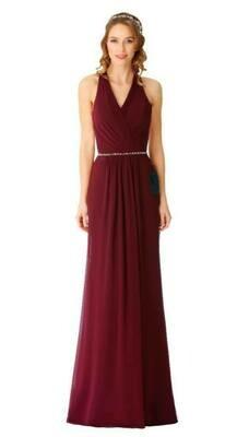 Dominque Special Occasion Dress | Halter Neck Bridesmaid Dress