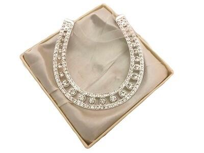 Diamante Horseshoe in Presentation Gift Box | Wedding Gifts