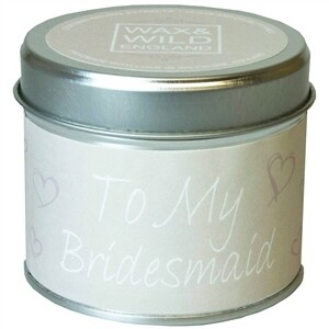 Scented Candle Bridesmaid Gift   Wedding Gifts   Buy Online