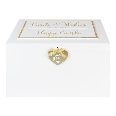 Wooden Card Post Box | Wedding Gifts | Buy Online