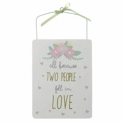 Love Sign | Love Quote Wall Plaque | Wedding Gifts