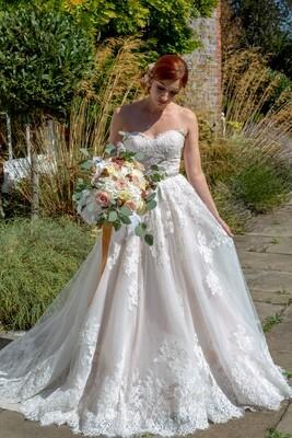 Princess A-line Lace Wedding Dress | Bridal Gown Style Flori