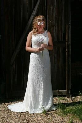 Lace Sheath Wedding Dress   Bridal Gown Style Tatiana
