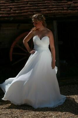 Chiffon A-Line Wedding Dress   Bridal Gown Style Paisley