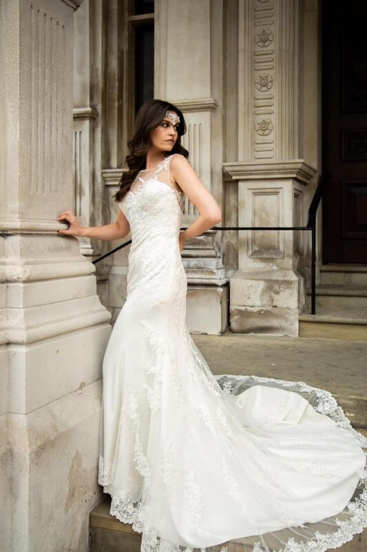 Fit & Flare Lace Wedding Dress | Bridal Gown Style Cordelia