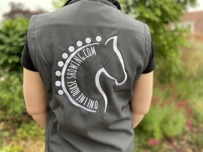 ONLINE HORSE SHOWING GILET