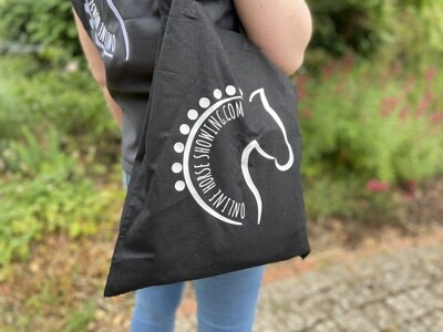 ONLINE HORSE SHOWING SHOPPING BAG
