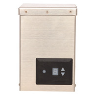 120W-Transformer w/ Photocell Timer (stainless steel)
