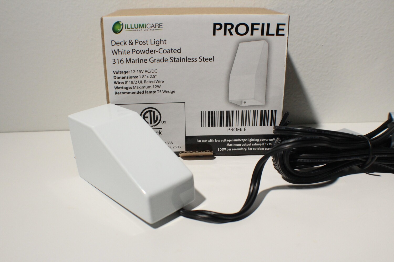 PROFILE - SMALL DECK/NICHE LIGHT - WHITE