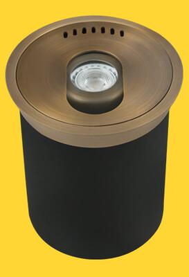 CL-322B-AB - Corona Cast Brass adjustable well light