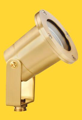 CL-511-BR - Corona Brass MR-16 Spot LIght