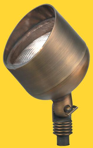 CL-519B-AB - Corona Brass Par 36 Flood Antique Brass