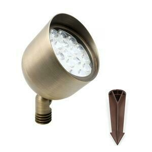 HAVEN FULL COLOR 12W WIFI BRASS LED UP LIGHT
