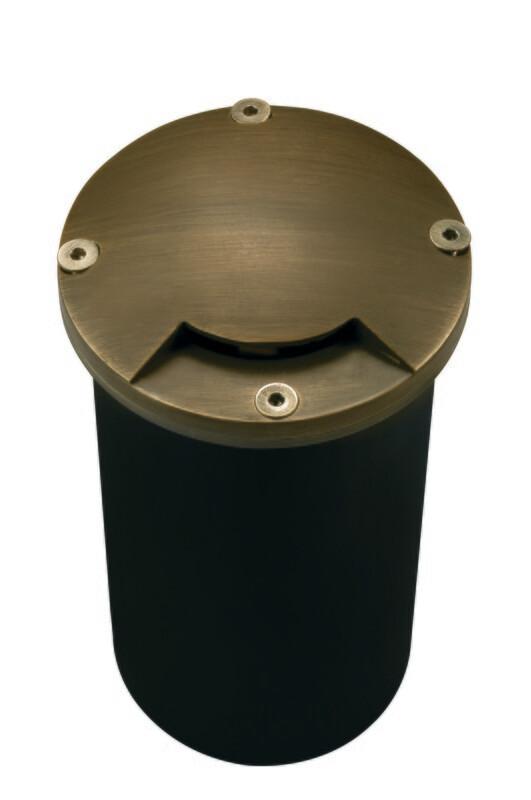 CL-204-AB - Corona Side Lighter Pathlight Brass 90 Degree
