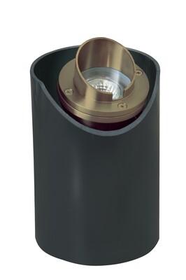 CL-232-AB - Corona Cast Brass Adjustable Well Light In PVC Housing