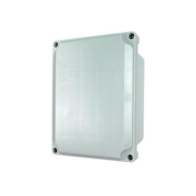 Q Series Mini 96W Full Color Controller-Outdoor Enclosure - WHITE