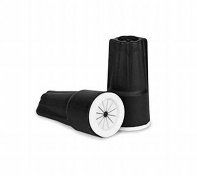 Small Wire Nuts Connectors Black/White (500 count)