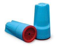 Wire Nut Connector Aqua/Red (500 count)