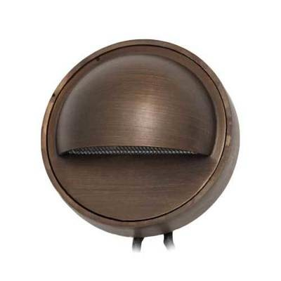 OPAL - ROUND SHROUDED DECK MOUNT BRASS