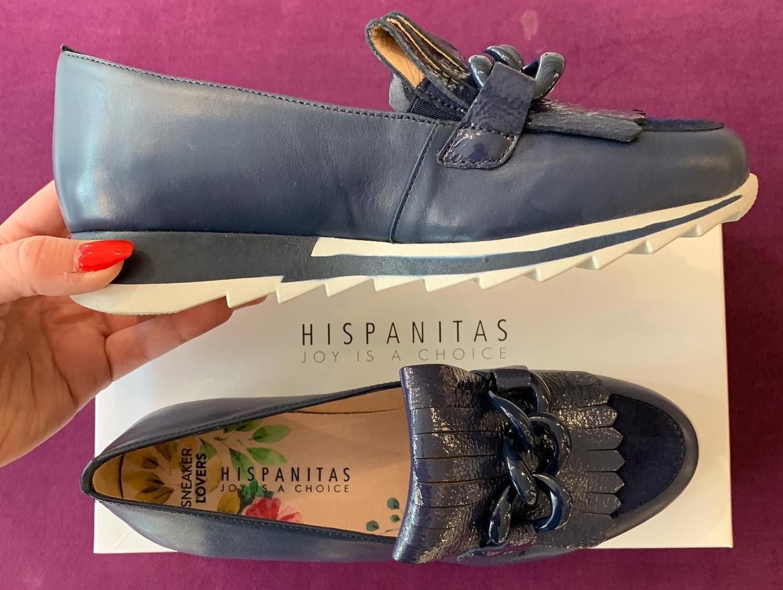 Soho Navy Slip On Shoe