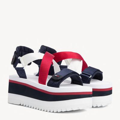 Sporty Neoprene Platform Sandal