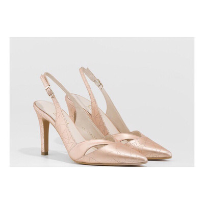 Rainey Nude Slingback Court Shoe