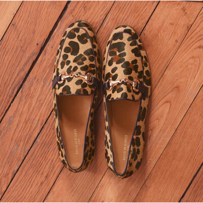 Clemence Leopard Snaffle Loafer