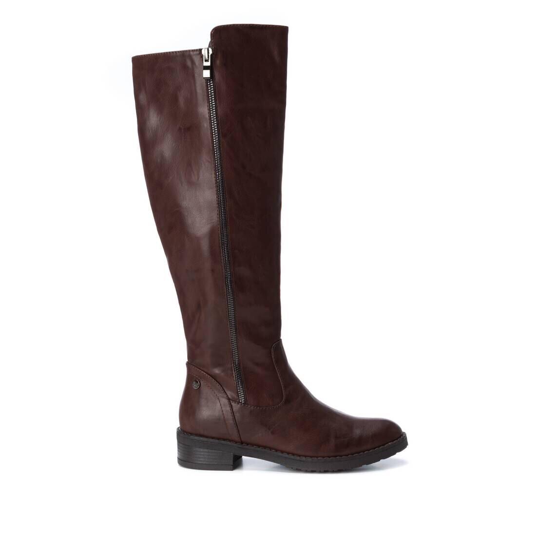 Brown Flat Knee High Boot