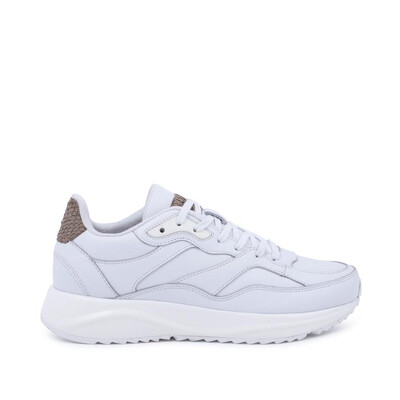 SOPHIE Leather Bright White Sneaker