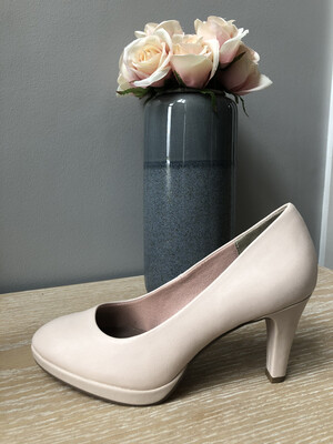 Rose Patent Court Shoe